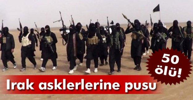 IŞİD Irak askerine pusu kurdu: 50 ölü