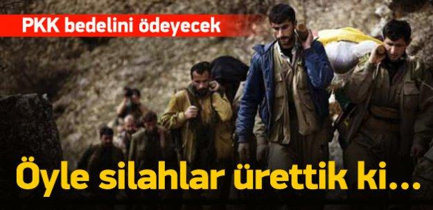 Işık: Öyle silahlar ürettik ki PKK düşünsün
