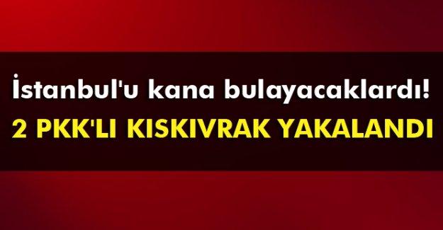 İstanbul'da PKK adına eylem hazırlığındaki 2 kişi yakalandı