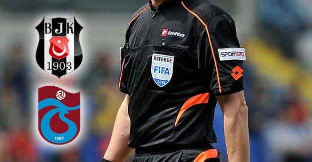 İşte Beşiktaş-Trabzonspor maçının hakemi