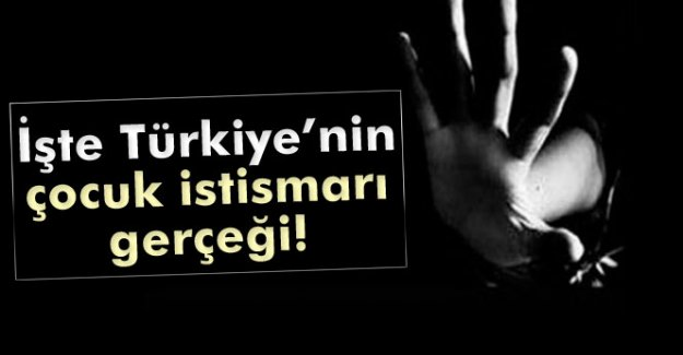 İşte Türkiye'nin çocuk istismarı gerçeği