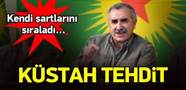 Kandil'den Türkiye'ye küstah tehdit