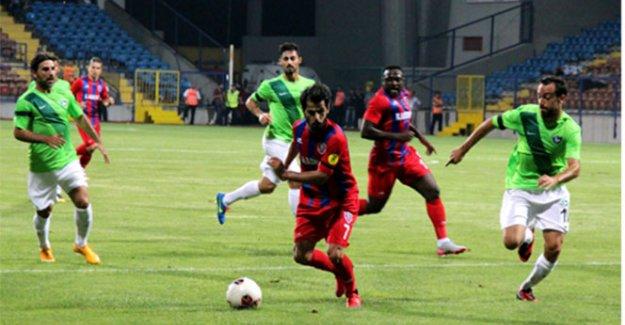 Karabükspor, Denizlispor'u mağlup etti