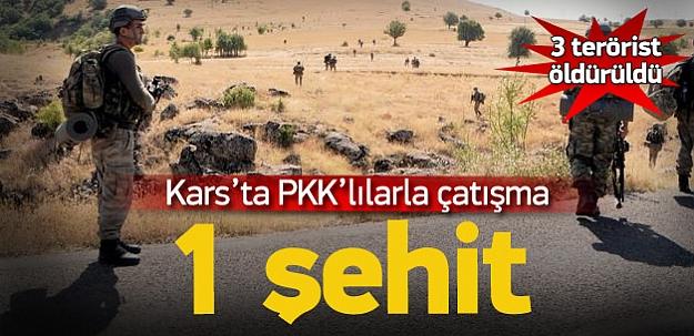 Kars'tan acı haber: 1 Şehit