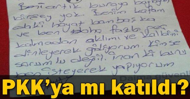 Kaybolan eşinin PKK'ya katıldığından şüpheleniyor