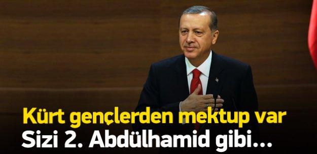 Kürt gençlerden Erdoğan'a mektup