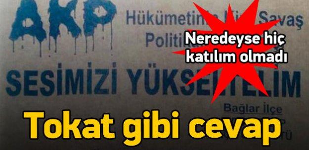 Kürt halkı PKK'nın çağrısına uymadı