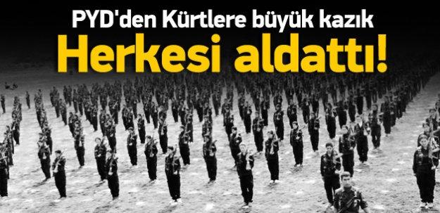 Kürt partileri kızdırdı: PYD, herkesi aldattı
