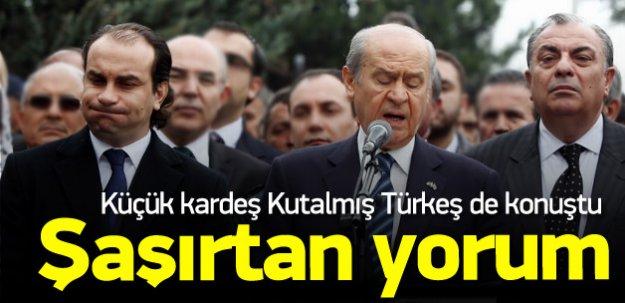 Kutalmış Türkeş'ten ağabeyi Tuğrul Türkeş yorumu