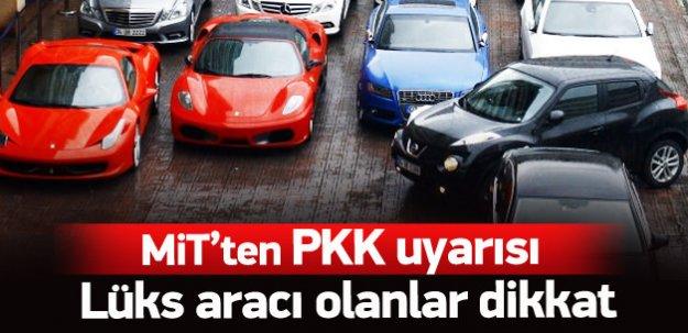 Lüks araçlara intihar saldırısı uyarısı!