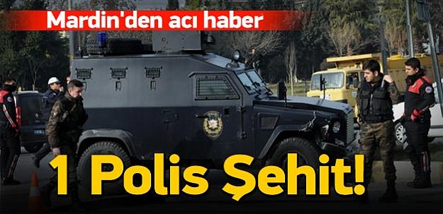 Mardin'den acı haber: 1 şehit, 1 yaralı