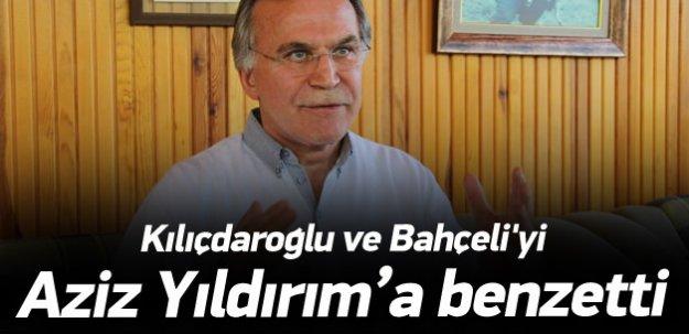 Mehmet Ali Şahin'den 'Aziz Yıldırım' benzetmesi