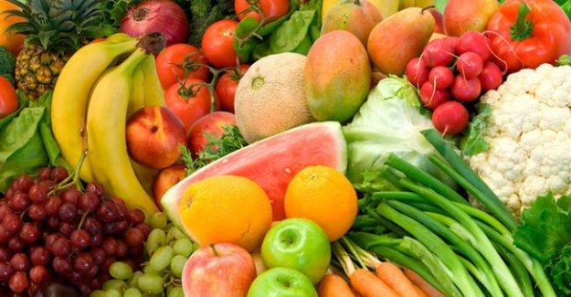 Meme kanserine karşı taze meyve ve sebze tüketin