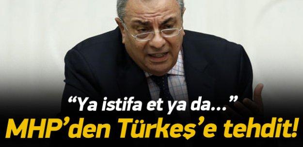 MHP'den Türkeş'e ihraç tehdidi