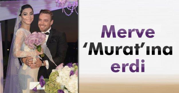Murat Dalkılıç ile Merve Boluğur evlendi