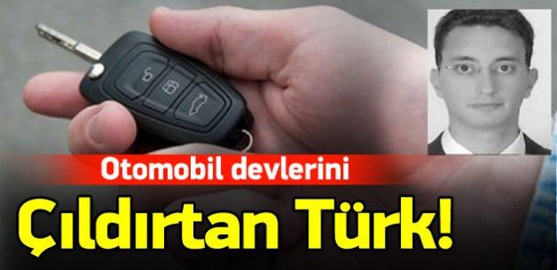 Otomobil devlerini çıldırtan Türk!