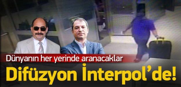 Öz ve Kara için 'difüzyon' dosyası Interpol'de