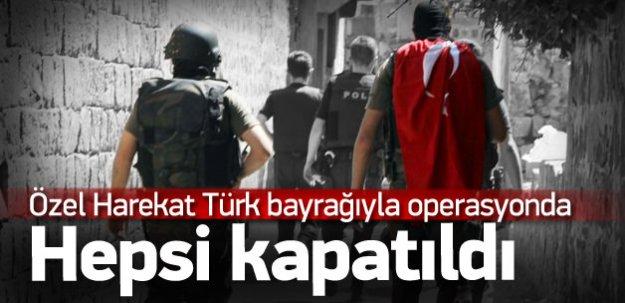 Özel Harekat hain avında: Türk bayraklı operasyon