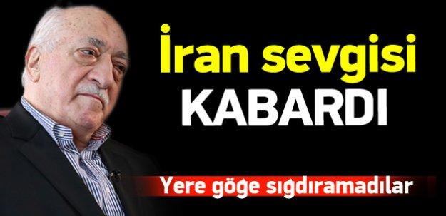 Paralel örgütün İran sevgisi