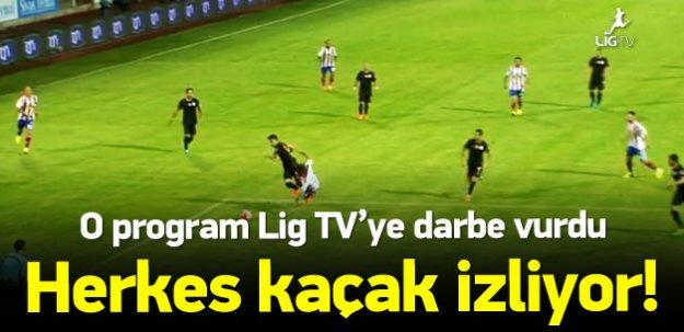 Periscope, Lig TV'ye darbe vurdu!