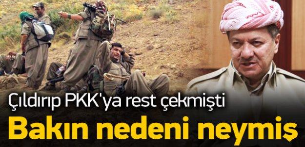 PKK, Barzani'yi 250 milyon dolar zarara uğrattı