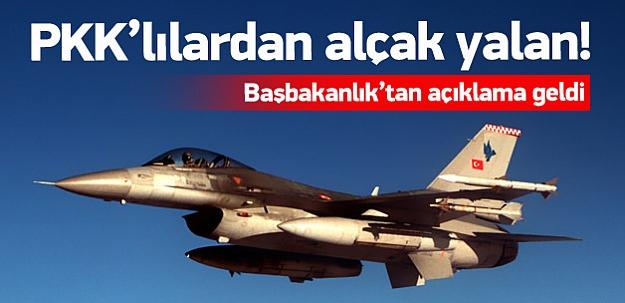 PKK'dan alçak bir yalan daha!