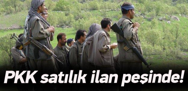 PKK, eylemleri için satılık ilanı peşinde