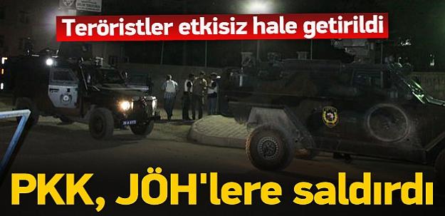PKK, JÖH lojmanlarına saldırdı: 1 ölü, 1 yaralı