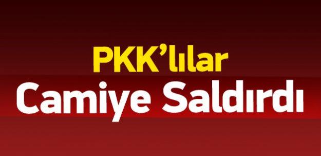 PKK'lılardan camiye saldırı
