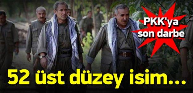 PKK'nın 52 üst düzey ismine yakalama kararı