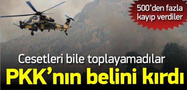 PKK'nın belini kırdı! Cesetler bile toplanamadı