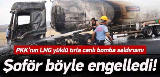 PKK'nın canlı bomba saldırısı son anda önlendi