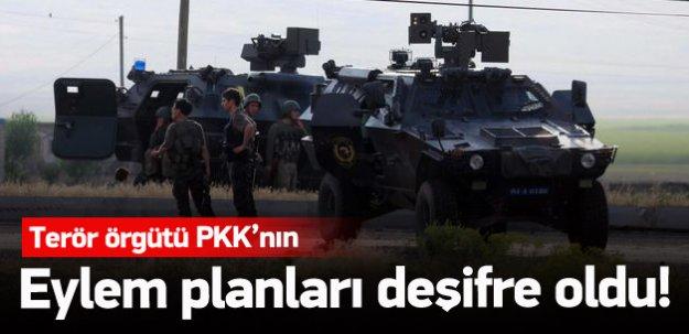 PKK'nın eylem planları deşifre oldu