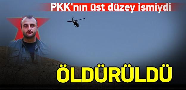PKK'nın Hakkari bölge sorumlusu öldürüldü