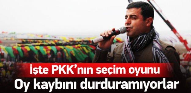 PKK'nın kirli seçim oyunu