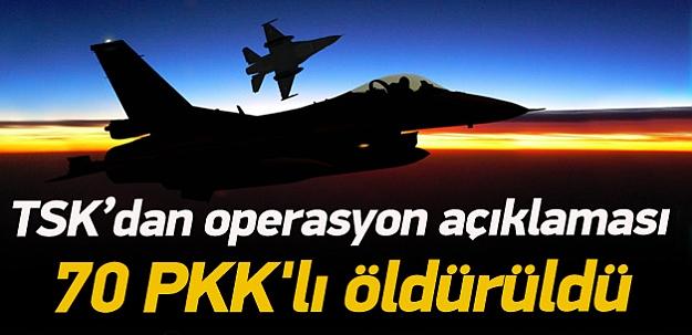 TSK'dan PKK'ya büyük darbe!