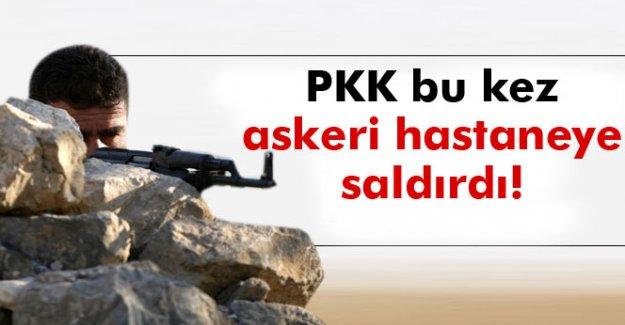 PKK'lılar Tatvan'da bu kez askeri hastaneye saldırdı