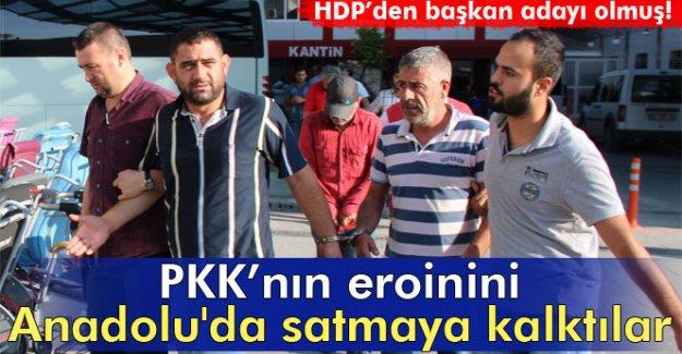 PKK'nın eroinini Anadolu'da satmaya kalktılar