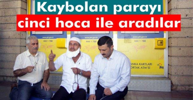 PTT ATM'sinde kaybolan 285 bin lirayı cinci hoca ile aradılar