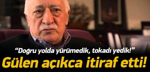 Fethullah Gülen'den itiraf: Doğru yolda yürümedik!