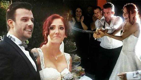 Salih Bademci ve İmer Özgün evlendi