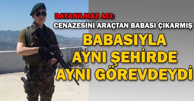 Şehit polis Aydın'ın babası da Özel Harekatçı