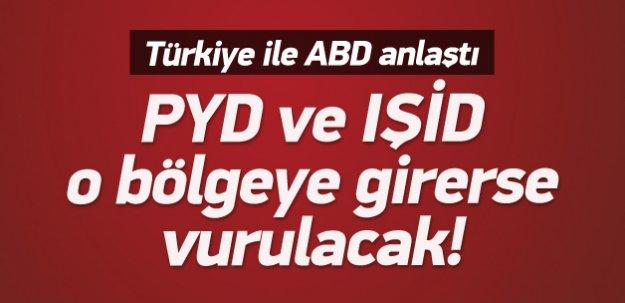 Sinirlioğlu: YPG güvenli bölgeye girerse vururuz