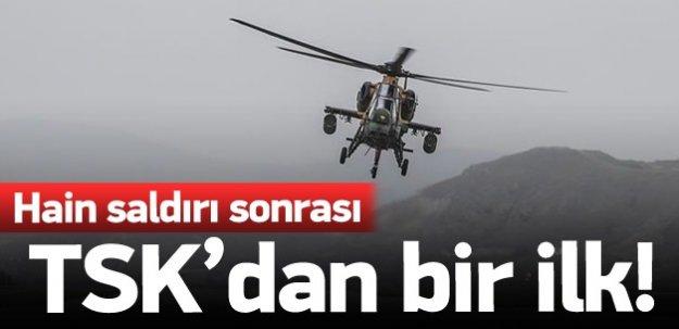 Şırnak'taki hain saldırı sonrası TSK'dan bir ilk