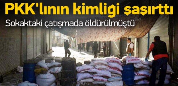 Sokakta öldürülen PKK'lının kimliği şaşırttı