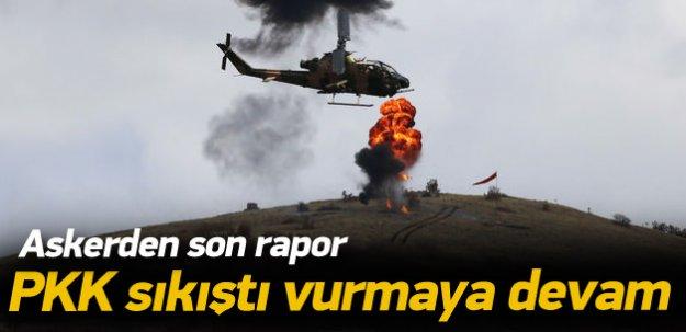 Son rapor: PKKpanikte, operasyonlar sürmeli