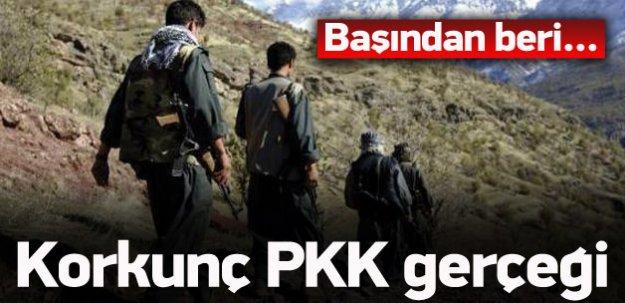 Sonunda ortaya çıktı! Korkunç PKK gerçeği