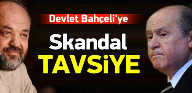 Sözde ilahiyatçıdan Bahçeli'ye skandal tavsiye