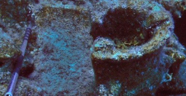 Su altından 2100 yıllık ocak çıkarıldı