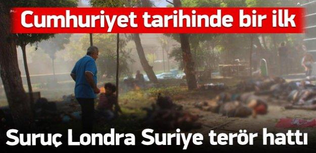 Suruç Londra Suriye terör hattı